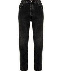 golden goose deluxe brand jeans happy in denim nero