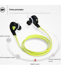 audífonos bluetooth deportivos inalámbricos, h7 auriculares audifonos bluetooth manos libres  auriculares estéreo soporta música (verde)