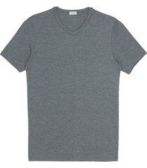 v-neck microfibre modal blend undershirt