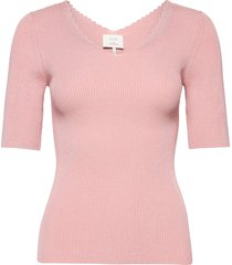 nubethenny s/s pullover t-shirts & tops knitted t-shirts/tops rosa nümph