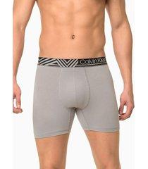 cueca boxer cotton fuel fashion - light grey - s