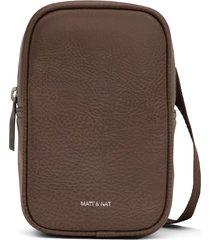matt & nat leni crossbody bag, chestnut