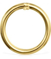 anilla mediana hold de oro dorado tous
