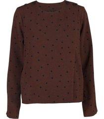 karlie dot-suit blouse