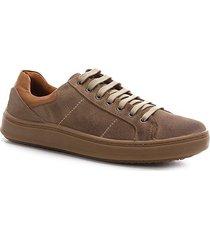 sapatênis shoestock camurça basic masculino - masculino