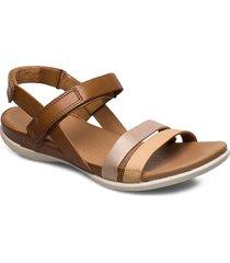 flash shoes summer shoes flat sandals brun ecco
