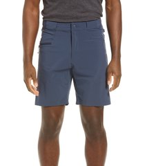 men's fjallraven high coast lite stretch shorts, size 34 us/ 50 eu - blue