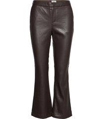 cornelia trousers leather leggings/broek groen twist & tango