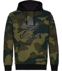 camo oth hoodie trui zwart adidas originals