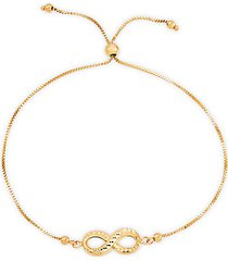 14k yellow gold box chain bolo bracelet