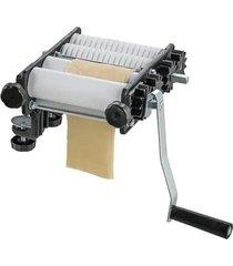 máquina de massa malta cilindro massa fácil com laminador e cortador
