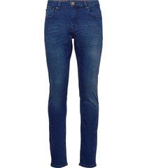 j s k3413 lt slimmade jeans blå gabba