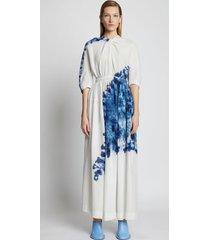 proenza schouler tie dye linen viscose dress 963 blue multi 12
