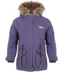 chaqueta peumo canvas jacket azul violeta lippi