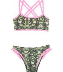 bikini verde mare moda nena entebe