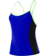 speedo hydractive tankini top zwart