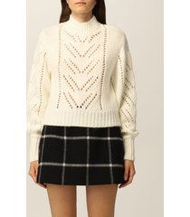 red valentino sweater red valentino mohair blend pullover