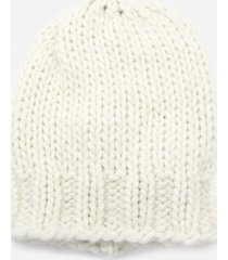 dondup knitted wool blend hat