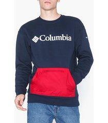 columbia fremont crew tröjor navy