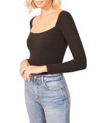 plus size women's reformation gaia bodysuit