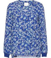 paxpw bl blouse lange mouwen blauw part two