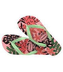 havaianas feminino top summer rosa