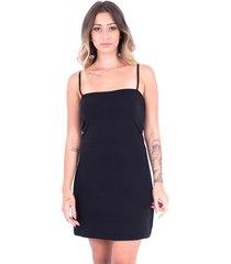 vestido up side wear retinho preto