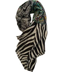 pañuelo art design negro zagora