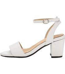 sandaletter klingel vit