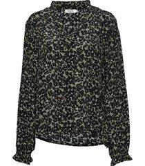 becci top blouse lange mouwen groen masai
