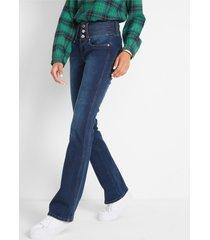 corrigerende stretch jeans buik-benen-billen
