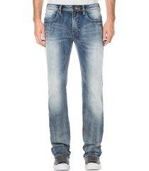 buffalo david bitton men's six-x straight jeans - indigo - size 29 34