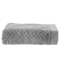 toalha de rosto chevron organic 48 cm x 85 cm - home style by buddemeyer
