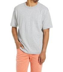 men's big & tall bp. solid crewneck t-shirt, size xxx-large - grey