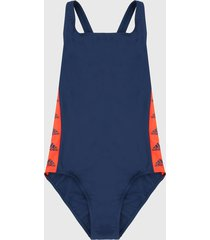 vestido de baño azul-naranja adidas performance sh3.ro tapered