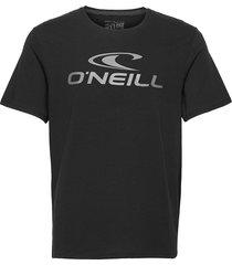 lm o'neill t-shirt t-shirts short-sleeved svart o'neill