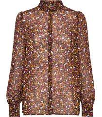 gryffin print shirt blouse lange mouwen multi/patroon modström