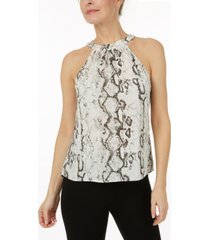 laundry by shelli segal printed halter top