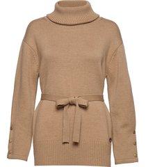 liza sweater turtleneck coltrui beige busnel