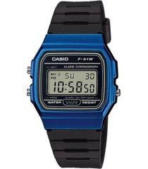 gran promoción reloj casio modelo f-91wm-2ª  original unisex verde