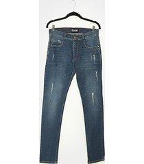 calça jeans ecko destroyed masculina