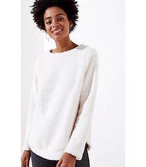 loft fleece sweatshirt