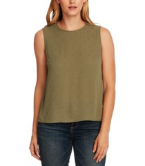 vince camuto petite studded top