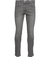 slhslim-leon 3021 l.grey st jeans w noos slim jeans grijs selected homme