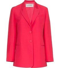 classic blazer pink