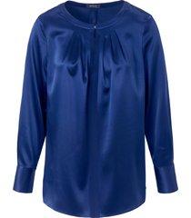 blouse zonder sluiting van basler blauw