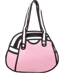 cartera shibuya rosa-blanco fight for your right