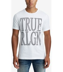 true religion men's crafted chain logo t-shirt