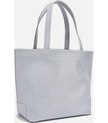 ted baker women's haricon bow small icon tote bag - grey