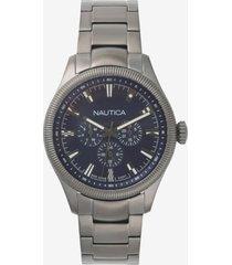 reloj casual gris nautica